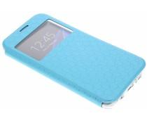 Blauw Rhombus hoesje Samsung Galaxy S7 Edge