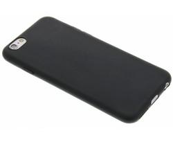 Zwart Color TPU hoesje iPhone 6 / 6s