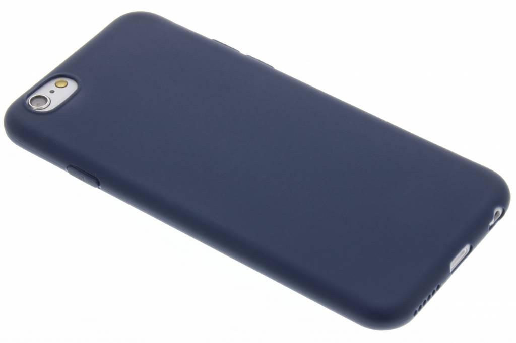 Donkerblauw Color TPU hoesje voor de iPhone 6 / 6s