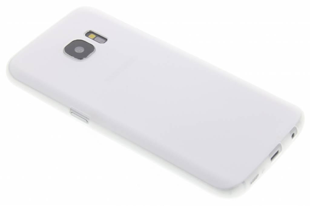 Wit Color TPU hoesje voor de Samsung Galaxy S7