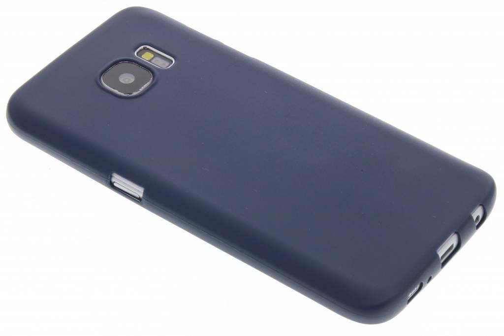 Donkerblauw Color TPU hoesje voor de Samsung Galaxy S7