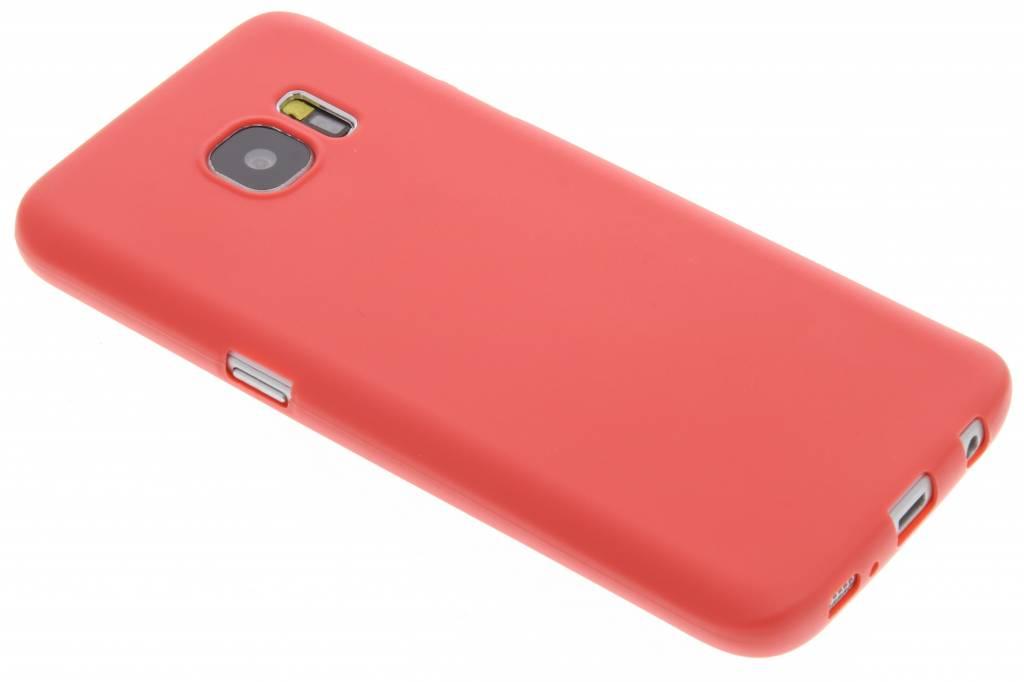 Rood Color TPU hoesje voor de Samsung Galaxy S7