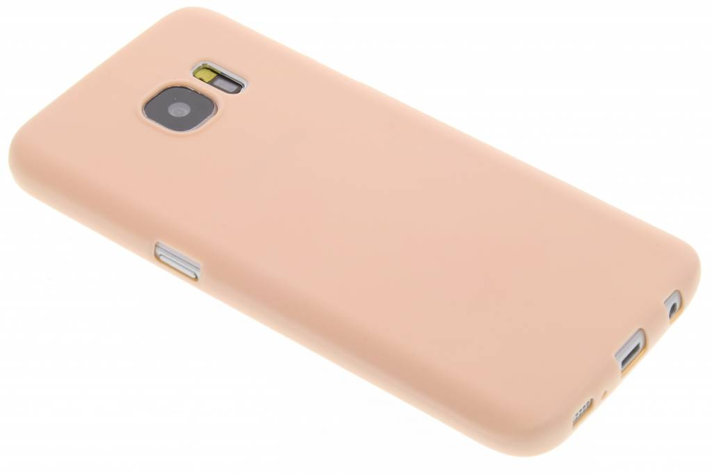 Poederroze Color TPU hoesje voor de Samsung Galaxy S7