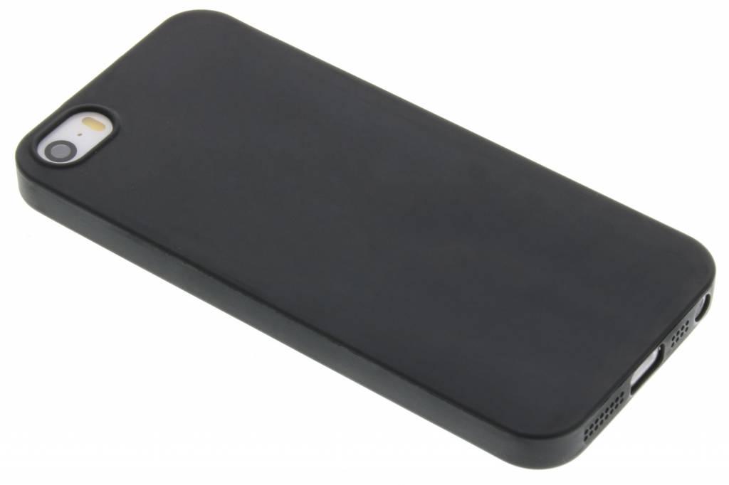Zwart Color TPU hoesje voor de iPhone 5 / 5s / SE
