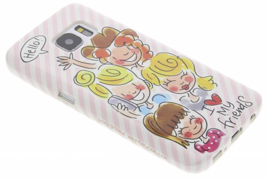 Image of I love my friends softcase voor de Samsung Galaxy S7