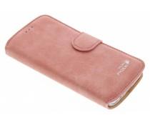 Luxe suède booktype Samsung Galaxy S7