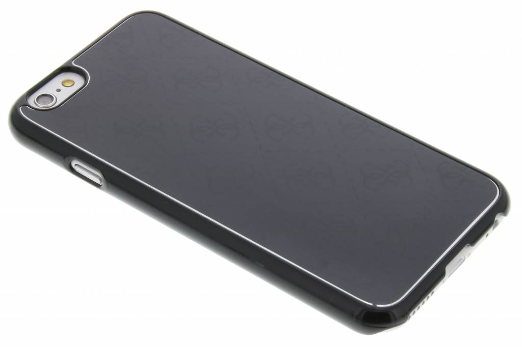 Guess Aluminium Plate Hard Case voor de iPhone 6 / 6s - Black
