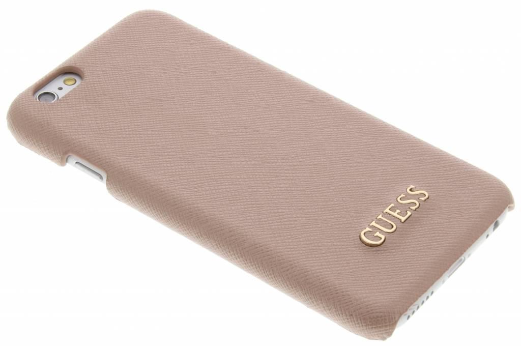 Guess Saffiano Look hardcase voor de iPhone 6 / 6s - Rosé
