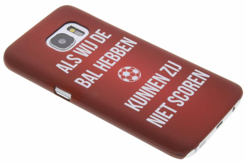 Als wij de bal hebben hardcase hoesje voor de Samsung Galaxy S7