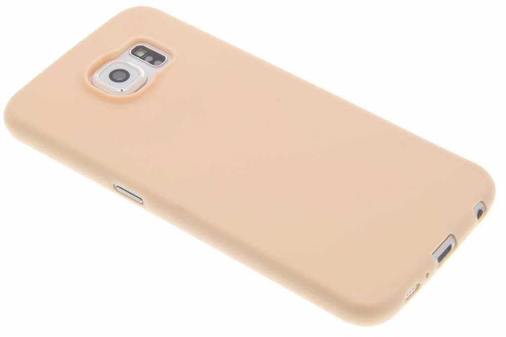 Poederroze Color TPU hoesje voor de Samsung Galaxy S6