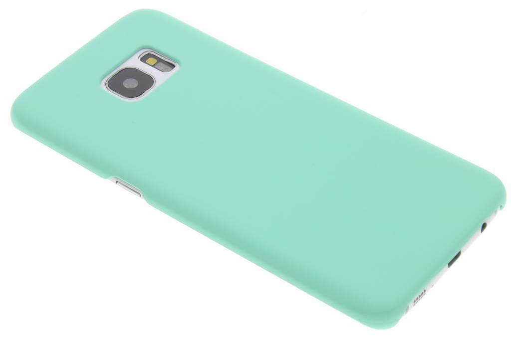 Mintgroen pastel hardcase hoesje voor de Samsung Galaxy S7 Edge