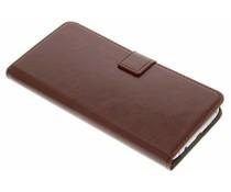 Bruin stijlvolle bookcase Samsung Galaxy S7 Edge