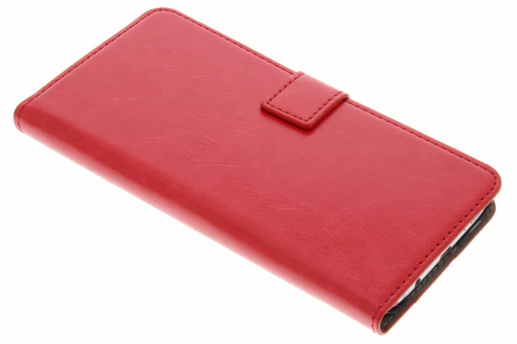 Rode stijlvolle bookcase voor de Samsung Galaxy S7 Edge