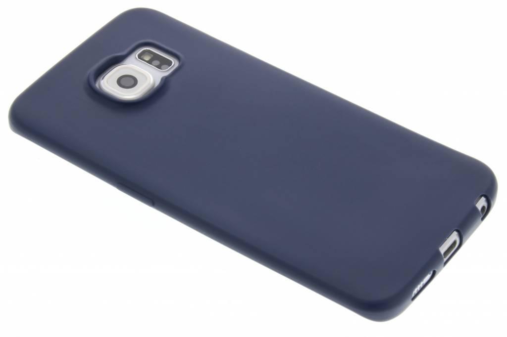 Donkerblauw Color TPU hoesje voor de Samsung Galaxy S6 Edge