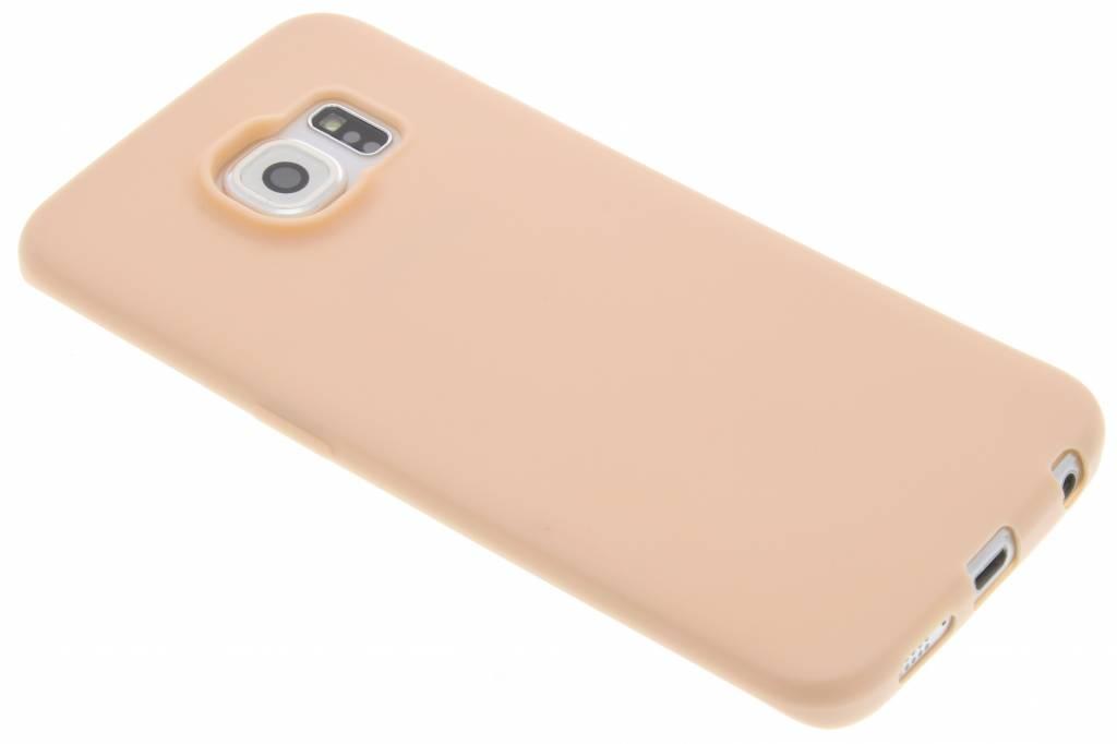 Roze Color TPU hoesje voor de Samsung Galaxy S6 Edge