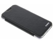 Zwart crystal slim book case Samsung Galaxy S7
