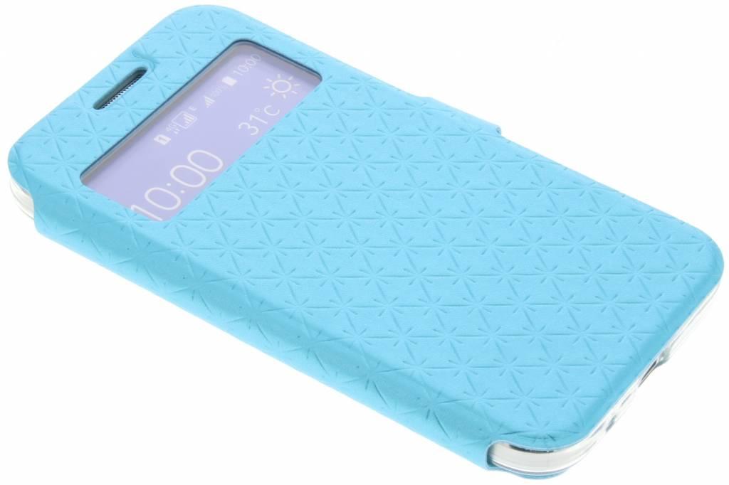Blauw Rhombus hoesje voor de Samsung Galaxy Core Prime
