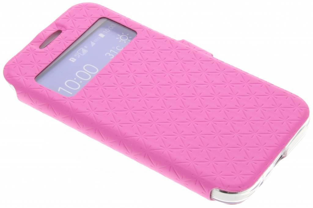 Roze Rhombus hoesje voor de Samsung Galaxy Core Prime