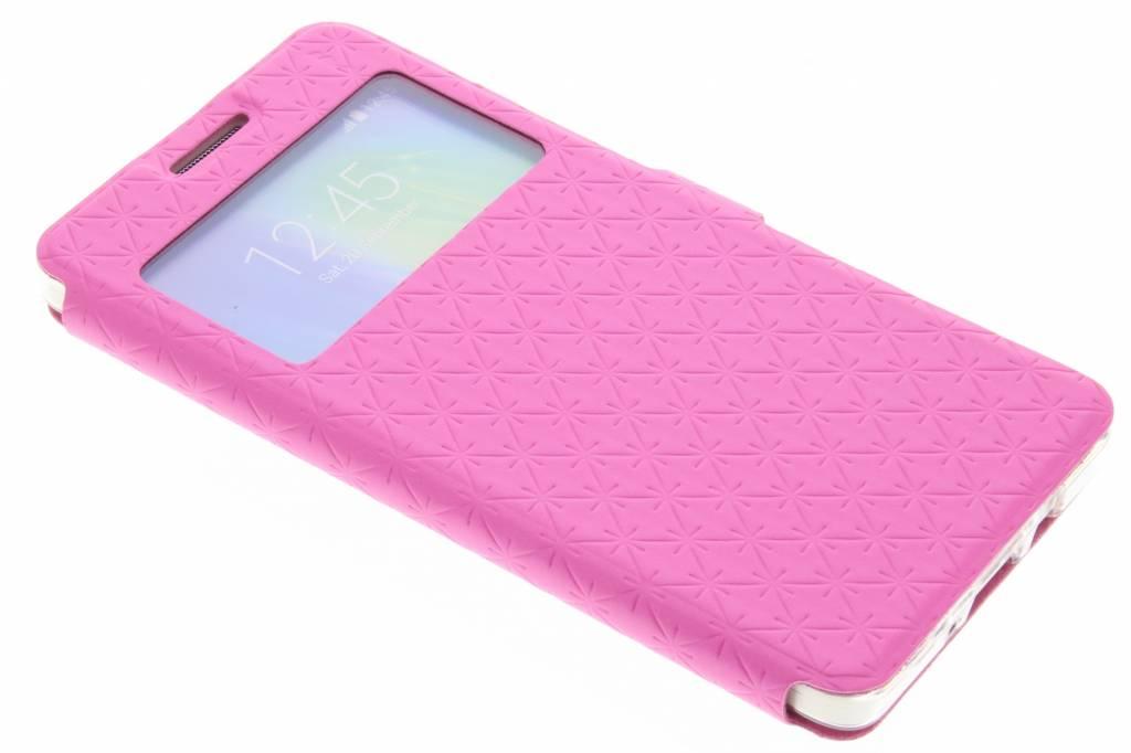 Roze Rhombus hoesje voor de Samsung Galaxy A5