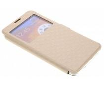 Goud Rhombus hoesje Samsung Galaxy Note 3