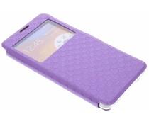 Paars Rhombus hoesje Samsung Galaxy Note 3