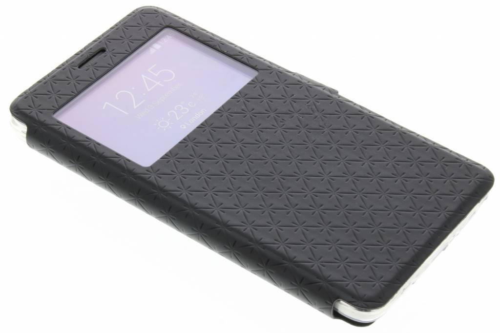 Zwart Rhombus hoesje voor de Samsung Galaxy Note 4