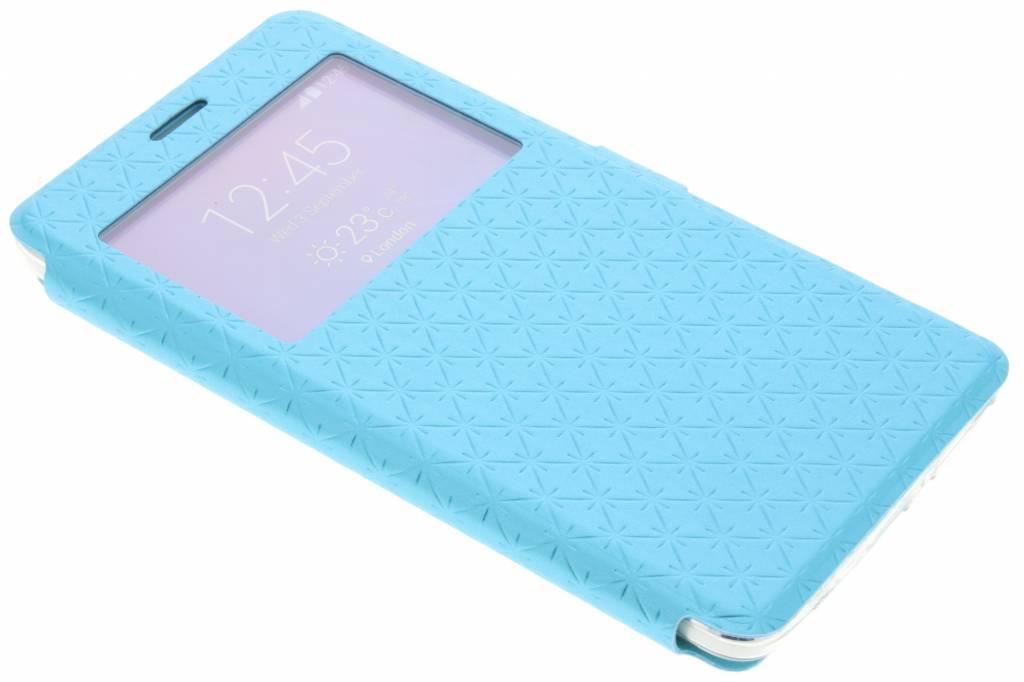 Blauw Rhombus hoesje voor de Samsung Galaxy Note 4