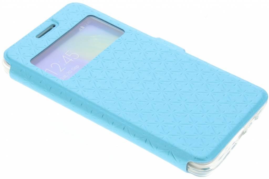 Blauw Rhombus hoesje voor de Samsung Galaxy A3