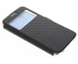 Zwart Rhombus hoesje Samsung Galaxy S6 Edge