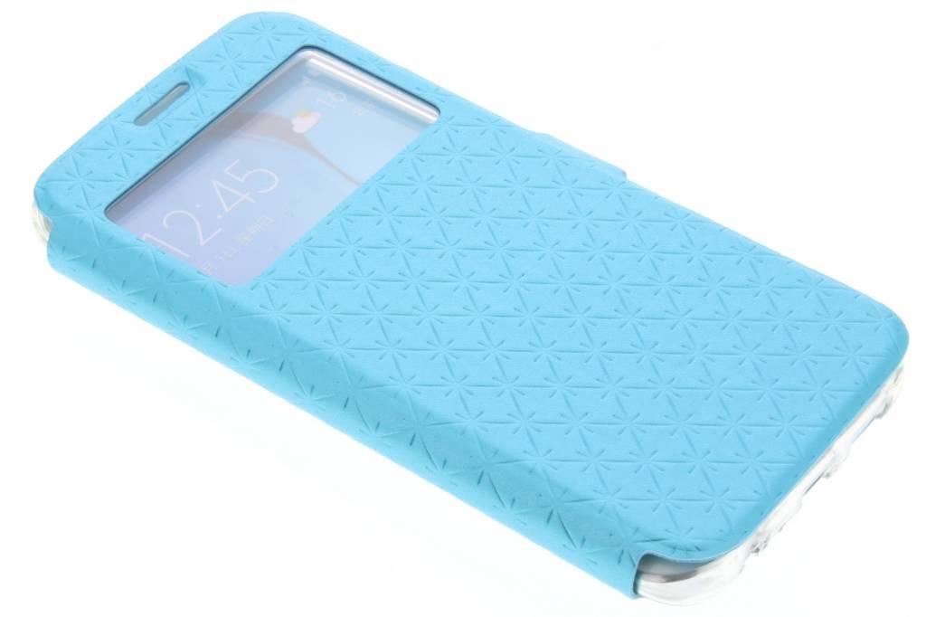 Blauw Rhombus hoesje voor de Samsung Galaxy S6 Edge