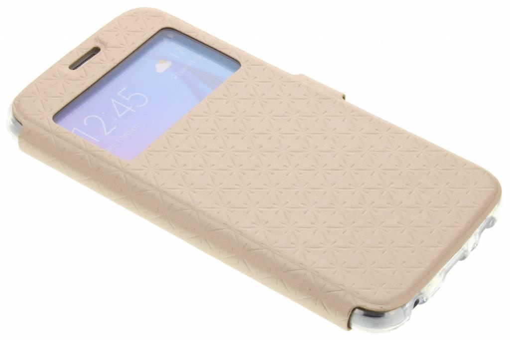 Goud Rhombus hoesje voor de Samsung Galaxy S6