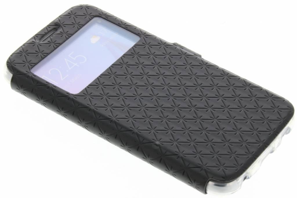 Zwart Rhombus hoesje voor de Samsung Galaxy S6
