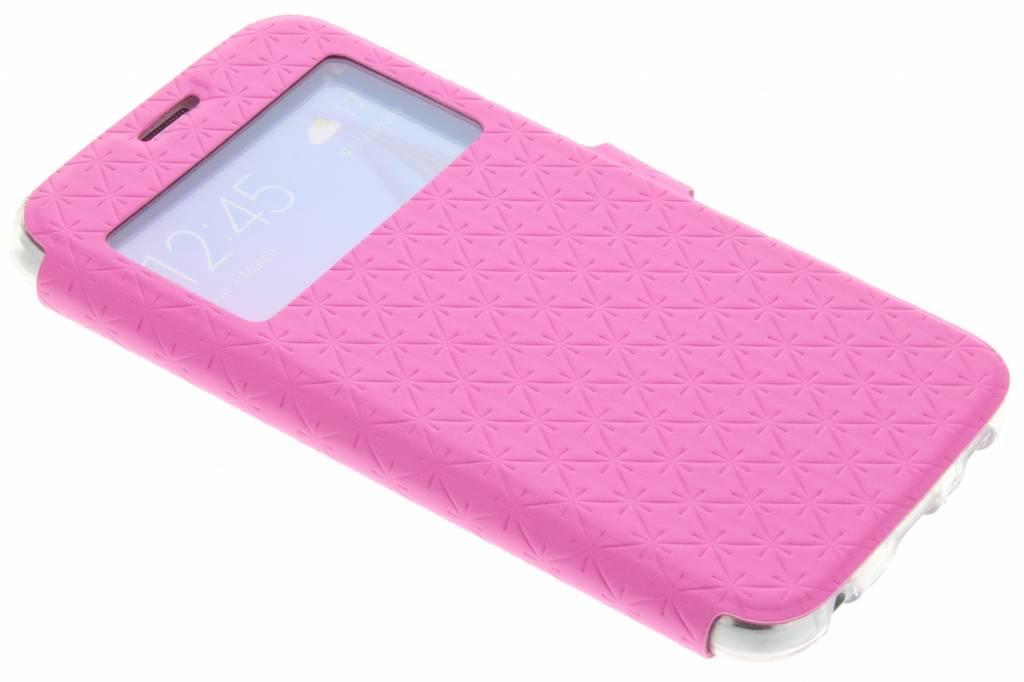 Roze Rhombus hoesje voor de Samsung Galaxy S6