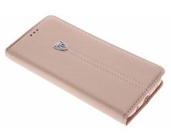 Rosé goud premium TPU booktype hoes Galaxy S7 Edge