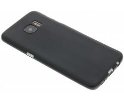 Zwart Color TPU hoesje Samsung Galaxy S7 Edge