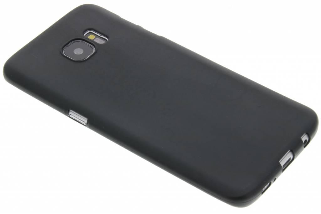 Zwart Color TPU hoesje voor de Samsung Galaxy S7 Edge