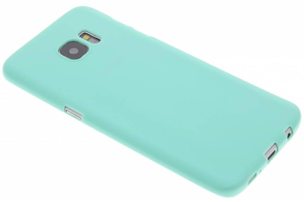 Mintgroen Color TPU hoesje voor de Samsung Galaxy S7 Edge