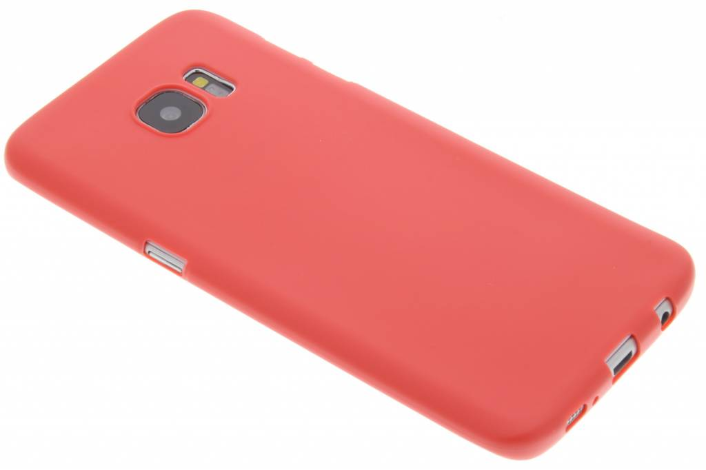 Rood Color TPU hoesje voor de Samsung Galaxy S7 Edge