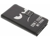 Design TPU booktype hoes Samsung Galaxy A5