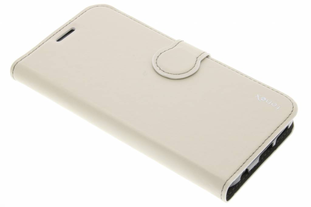 Fonex Identity Bookcase voor de Samsung Galaxy S6 Edge - Wit