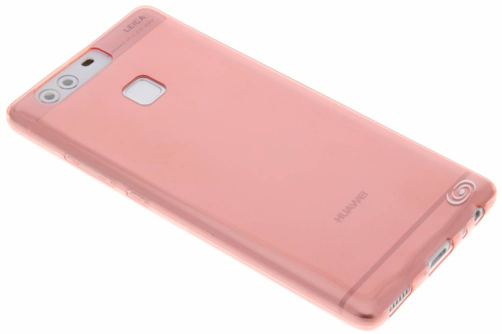 Fonex Invisible Ultra Thin Case voor de Huawei P9 - Rood