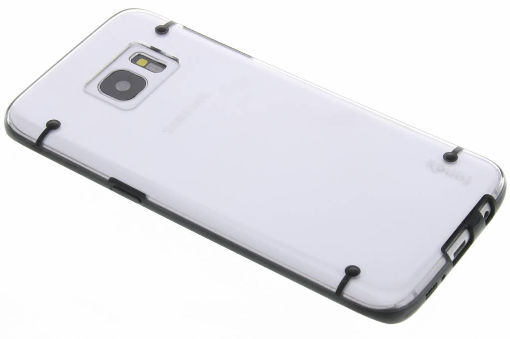 Fonex Mellow Hard Case voor de Samsung Galaxy S7 Edge - Zwart