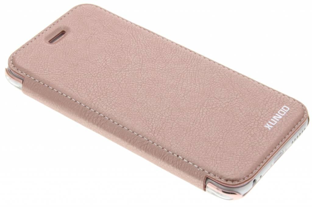 Roze crystal slim book case voor de iPhone 6 / 6s