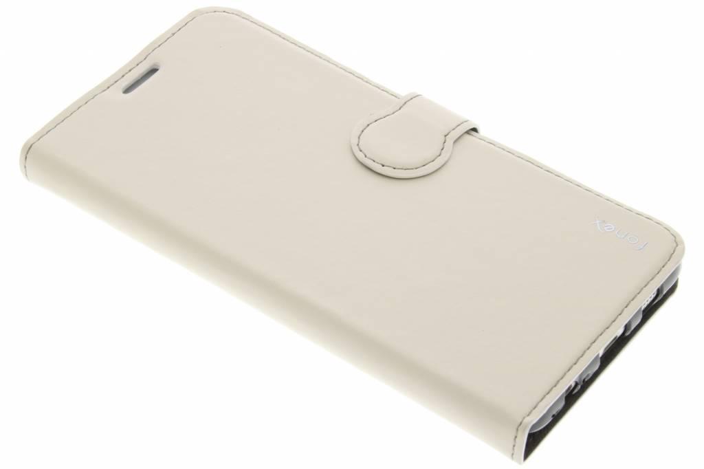 Fonex Identity Bookcase voor de Samsung Galaxy S6 Edge Plus - Wit