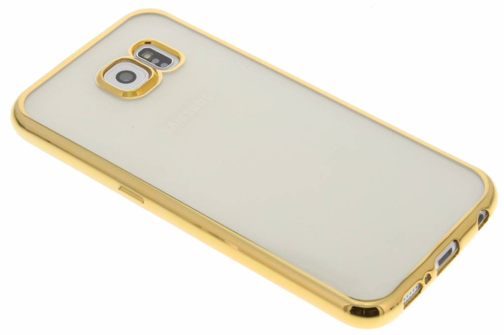 Fonex Sparkling Soft Case voor de Samsung Galaxy S6 - Goud