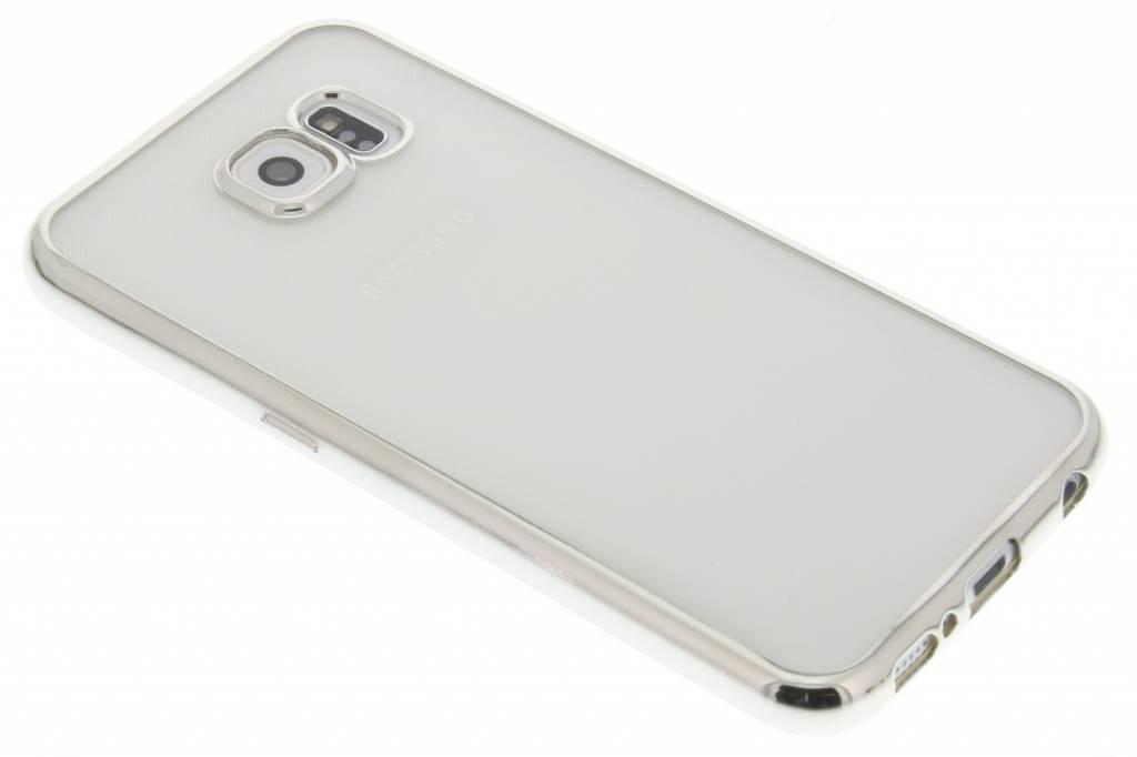Fonex Sparkling Soft Case voor de Samsung Galaxy S6 - Zilver