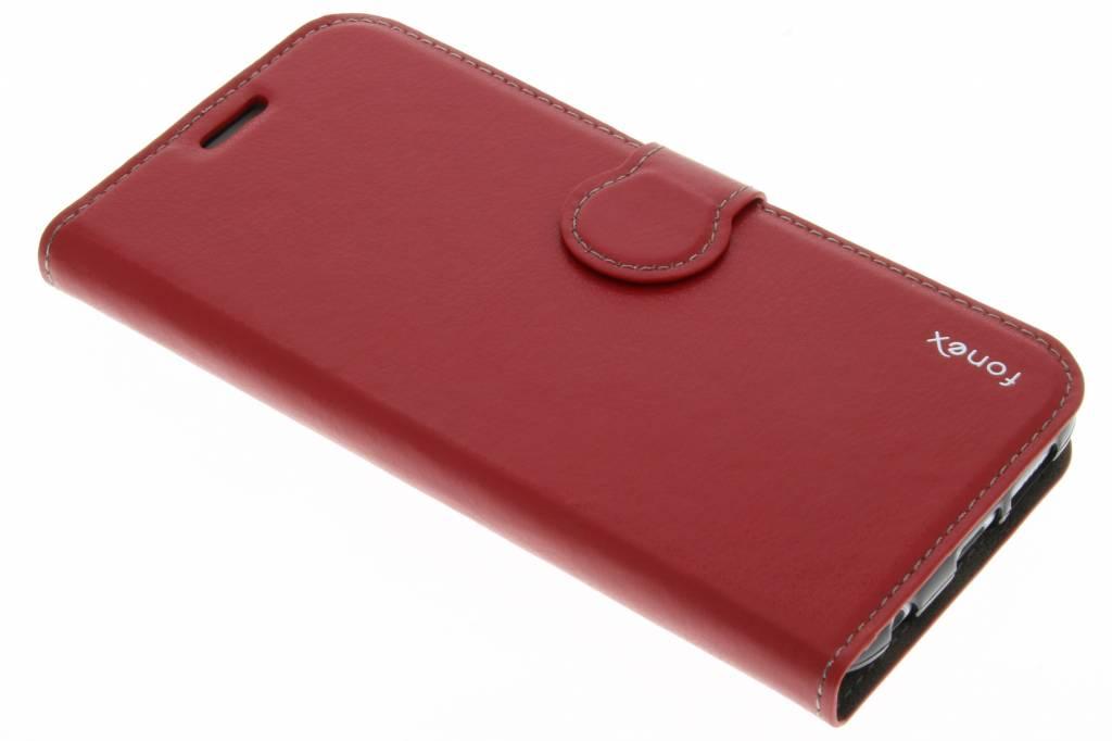 Fonex Identity Bookcase voor de Samsung Galaxy S6 - Rood
