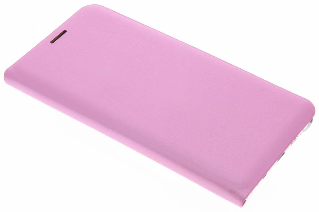 Roze luxe slim booktype voor de Samsung Galaxy A7 (2016)