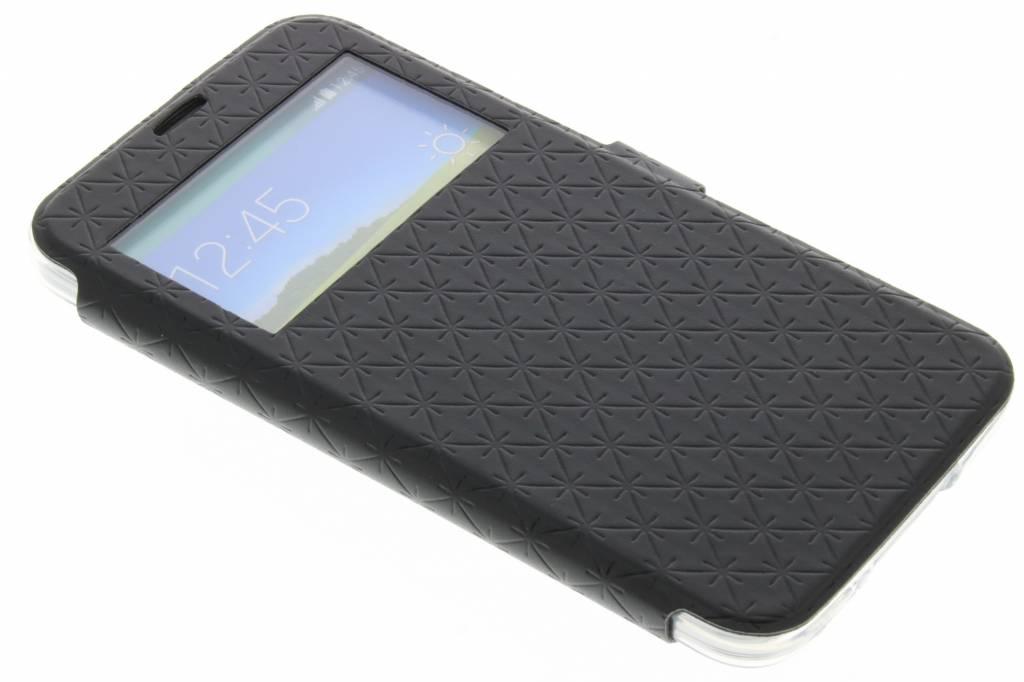 Zwart Rhombus hoesje voor de Samsung Galaxy S5 (Plus) / Neo