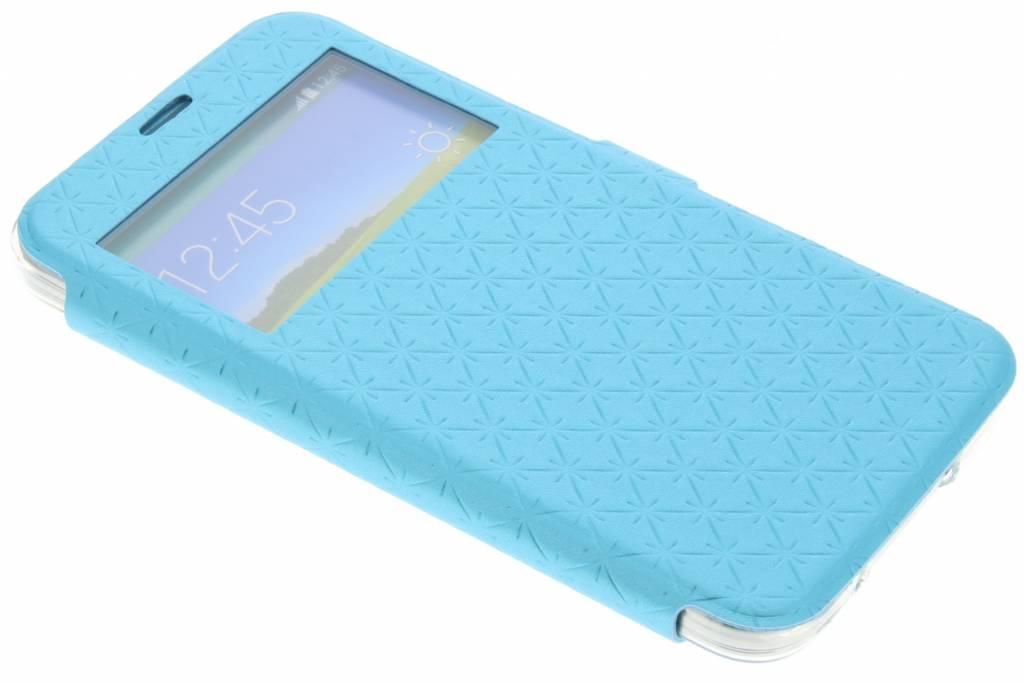 Blauw Rhombus hoesje voor de Samsung Galaxy S5 (Plus) / Neo